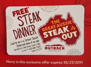 One Million Free Steaks
